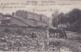 Burg Rüttgen Roussy Le Bourg Circulée En 1910 - Thionville