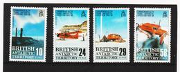 NEU1130 BRITISH ANTARCTIC TERRITORY 1988 Michl 45/48 Postfrisch SIEHE ABBILDUNG - Ungebraucht
