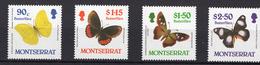 1987 - MONTSERRAT-  Mi. Nr. 683/686 - NH - (UP121.8) - Montserrat