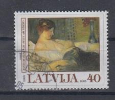 Latvia 2005  Mi 636 Used Paint - Latvia
