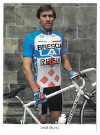 CARTE CYCLISME BRUNO LEALI TEAM BRESCIALAT 1994 - Wielrennen