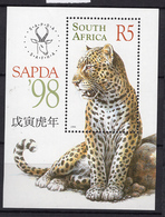 1998 - SOUTH AFRICA-  Mi. Nr. BL. 68   - NH - (UP121.9) - Sud Africa (1961-...)