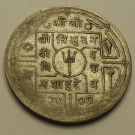 1950 - Népal - 2007 - 1 RUPEE, Gyanendra Bir Bikram, Argent, Silver, KM 730 - Népal