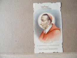MONDOSORPRESA, (ST256) SANTINO, SANTINI, SAN CARLO BORROMEO, 1909 - Imágenes Religiosas