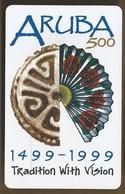 Telefoonkaart. Setar. 93503AF. Aruba 500. - 1499 - 1999. Tradition With Vision. 30 Units. Afl,7.50 - Aruba
