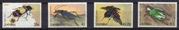 1983 - ZAMBIA -  Mi. Nr. 349-352 - NH - (UP121.9) - Zambia (1965-...)