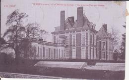 CPA - YERRES Le Château La Grange Vue Prise Du Parc Aux Faisans - Yerres