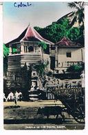 CEYLON  SRI LANKA   TEMPLE  OFTHE TOOTH   KANDY   COLOMBO  Cpsm     TBE  T68 - Sri Lanka (Ceylon)