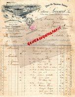 37 - TOURS- FACTURE OCTAVE LECOURT -DELOCHE FRERES- ALIMENTATION EN GROS-CAFES -15 RUE JEHAN FOUQUET-1919 - Alimentaire