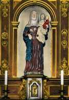 HONFLEUR  Pélerinage Notre-Dame De Grâce.  Sainte Anne, Vierge Marie, Jésus.  TBE - Honfleur