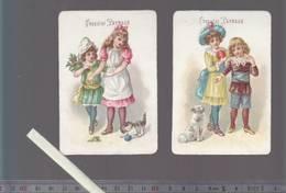 Chromo XIXè - Lot De 2 - Chocolat Payraud - Enfants - Other