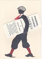 Cp (a Systeme)-publicité-prophil Partners New--3 Rue De La Boetie  75008 Paris - Pubblicitari