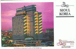 COREE SUD SEOUL HOTEL 1991 - Corée Du Sud