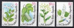 1980 - ST.CHRISTOFER-NEVIS-ANGUILLA -  Mi. Nr. 388/391 - NH - (UP121.10) - St.Kitts E Nevis ( 1983-...)