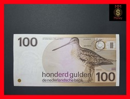 Netherlands 100 Gulden 1977 P. 97 XF-AU - 100 Florín Holandés (gulden)