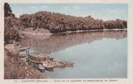 CAUDROT - GIRONDE -  (33)  -    PEU COURANTE CPA. - France