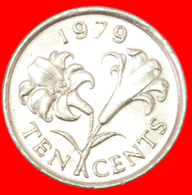# FLOWER (1970-1985): BERMUDA ★ 10 CENTS 1979! LOW START ★ NO RESERVE! - Bermuda