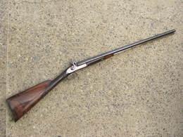 Fusil Juxtaposé à Piston XIXeme Siècle 2 - Armes Neutralisées