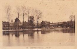 GENISSAC - GIRONDE -  (33)  -    PEU COURANTE CPA DE 1944. - France