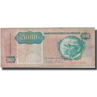 Billet, Angola, 5000 Kwanzas, 1991, 1991-02-04, KM:130a, TB - Angola