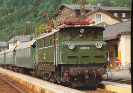 Austrian Federal Railways , Express Locomotive 1670.08 - Eisenbahnen