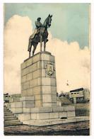CPSM : NAMUR - La Statue Du Roi Albert 1er Sur Son Promontoire Au Grognon - Namur