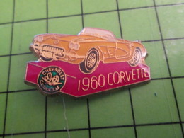 310a PIN'S PINS / Rare Et De Belle Qualité / THEME AUTOMOBILE / CHEVROLET CORVETTE 1960 - Corvette