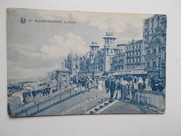 CPA - BLANKENBERGHE -  Le Digue  - ANIMATIE   - NO REPRO - Blankenberge