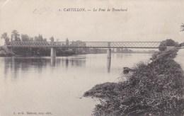 CASTILLON - GIRONDE -  (33)  -    PEU COURANTE CPA - France
