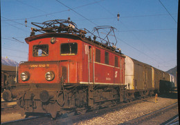 OBB, Electric Freight  Locomotive 1080 015-9 - Trenes