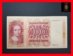 Norway  100 Kroner 1988 P. 43 D XF - Norvège