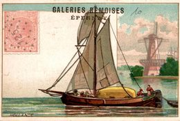 CHROMO  GALERIES REMOISES  EPERNAY HOLLANDE - Trade Cards