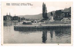 CPSM : NAMUR - Confluent De La Sambre Et Meuse - Albert 1er Sur Son Promontoire - Namur