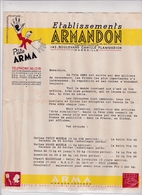 13-Ets Armandon Pâte Arma  Marseille  ( Bouches Du Rhône) - Other