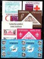 Jordanie 16 Blocs-feuillets Neufs ** MNH 1963/1966. Bonnes Valeurs. TB. A Saisir! - Jordan