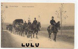 MILITARIA 142 : Armée Belge , Voitures Régimentaires : édit. Nels Bruxelles - Matériel