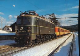 OBB, Electric Express Locomotive  1018.005-7 - Eisenbahnen