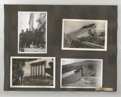 BAALBEK (LIBAN) 9 PHOTOS TIREES D'UN ALBUM DE 1939 (MILITAIRES  FRANCAIS ET RUINES MILLENAIRES) - Places
