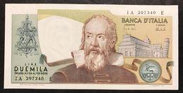 2000 LIRE Galileo Galilei 08 10 1973 CARLI BARBARITO Spl/sup LOTTO 2227 - [ 2] 1946-… : Républic