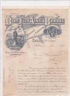13-Biet Fils & Barral Huiles & Savons Salon (Bouches Du Rhône) 1897 - Chemist's (drugstore) & Perfumery