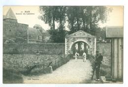 1900's, France, Ham. 'Entree Du  Chateau.' Soldiers On Guard. Printed Pc, Unused. - Ham