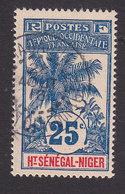 Upper Senegal And Niger, Scott #8, Used, Oil Palms, Issued 1906 - Upper Senegal And Nigeria (1904-1921)