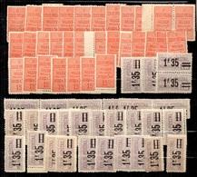 France Colis Postaux YT N° 30 Et N° 39 X 30 Timbres Neufs ** MNH. B/TB. A Saisir! - Parcel Post
