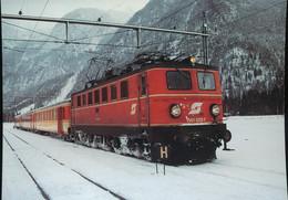 Austrian Federal Railways ( OBB ) , Electric   Locomotive For Multiple Purpose 1141 029-7 - Eisenbahnen