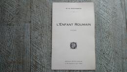 L'enfant Roumain Poème De Mis De Montferrier Guerre Ww1 Roumanie - Poetry