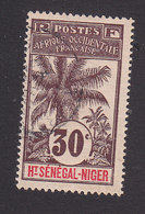 Upper Senegal And Niger, Scott #9, Used, Oil Palms, Issued 1906 - Upper Senegal And Nigeria (1904-1921)