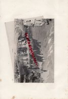 37 - CHINON - BELLE GRAVURE 1885 - Prints & Engravings