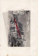 37 - CHINON - BELLE GRAVURE 1885 - Estampas & Grabados