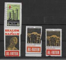 Palestine - AL-FATEH - Vignette Résistance Palestinienne - Palestine