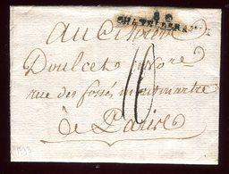 Lettre Avec Texte  ( Scan Intérieur Sur Demande) De Chatellerault Pour Paris En 1793 - 1701-1800: Précurseurs XVIII